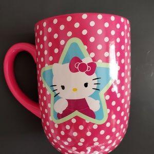 Hello Kitty Pink polka dot mug